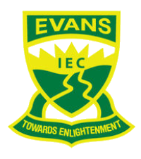 Evans Intensive English Centre logo